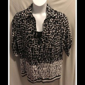 Size 3X PerSeption Top NWT